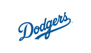 Todd Leitz Voice Actor Los Angeles Dodgers Logo